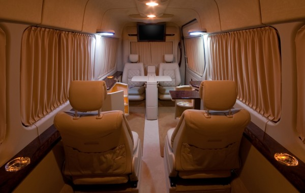 Mercedes Benz Sprinter Spacious Lux