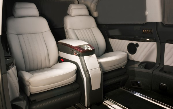 Mercedes Benz Viano Silver Chairs