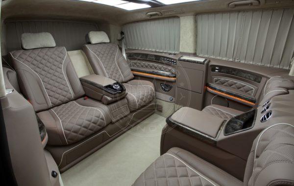 Mercedes Benz V klasse Mont Blanc 55
