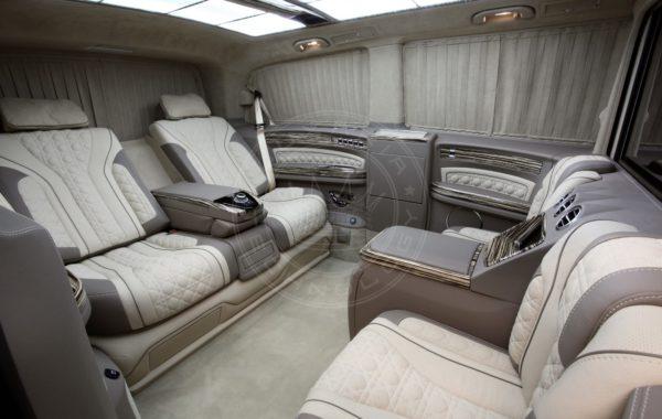 Mercedes Benz V klasse Mont Blanc 57