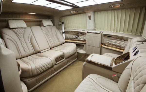Mercedes Benz V klasse Mont Blanc 67