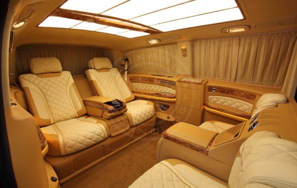 Mercedes Benz V klasse Mont Blanc 75