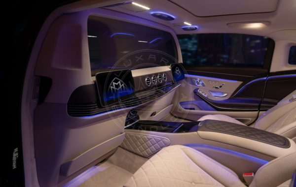 Mercedes Maybach X222 PullmanT line