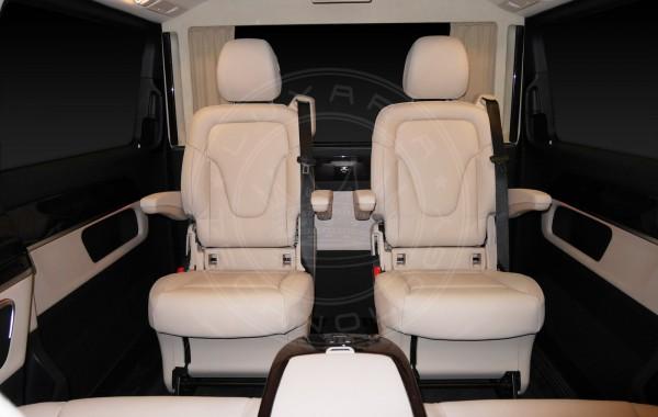 Mercedes Benz V class Just Black & White