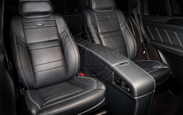 Mercedes Benz GL X166 AMG Black Seats