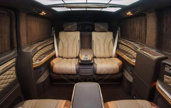 Mercedes Benz V class Mont Blanc 35