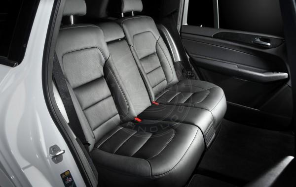Mercedes Benz GLS X166 Black Couch