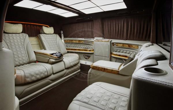 Mercedes Benz V class Mont Blanc 47