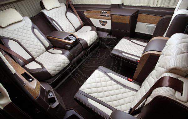 Mercedes Benz V class Mont Rose + 28