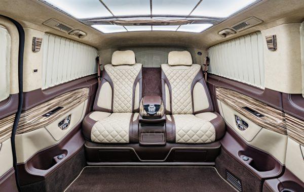 Mercedes Benz V class Mont Rose 38