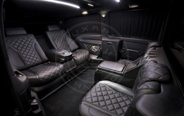 Mercedes Benz V class Dome du Gouter 71