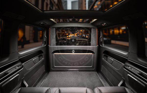 Mercedes Benz V class Mont Rose 100