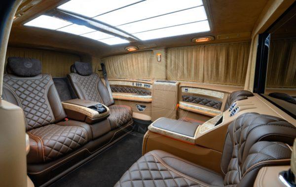 Mercedes Benz V class Mont Blanc 97