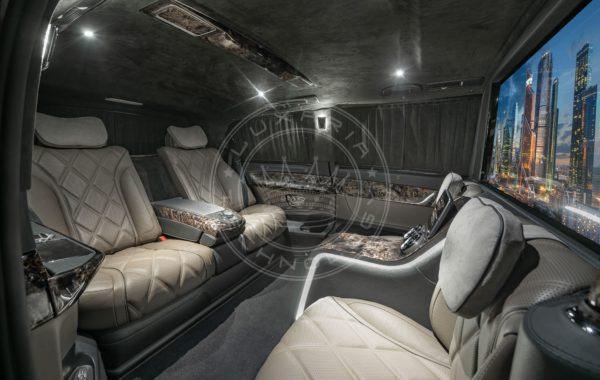 Mercedes Benz V class Dome du Gouter 113