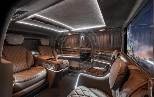 Mercedes Benz V class Mont Blanc 109