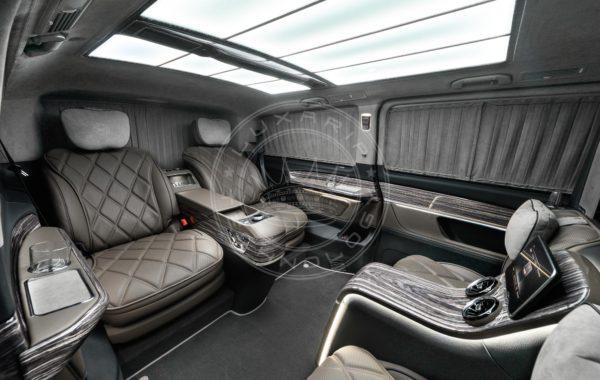 Mercedes Benz V class Dome du Gouter 117