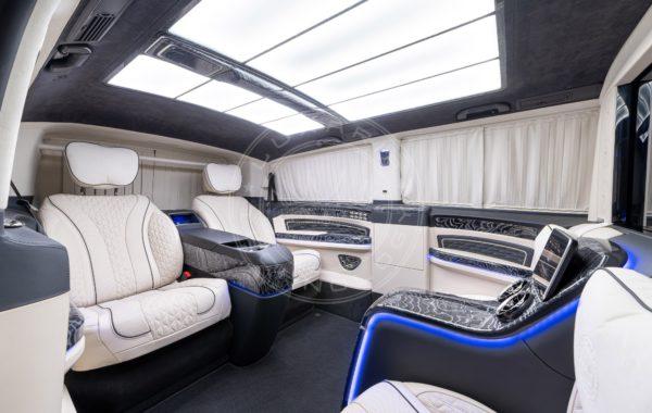 Mercedes Benz V class Mont Blanc 115